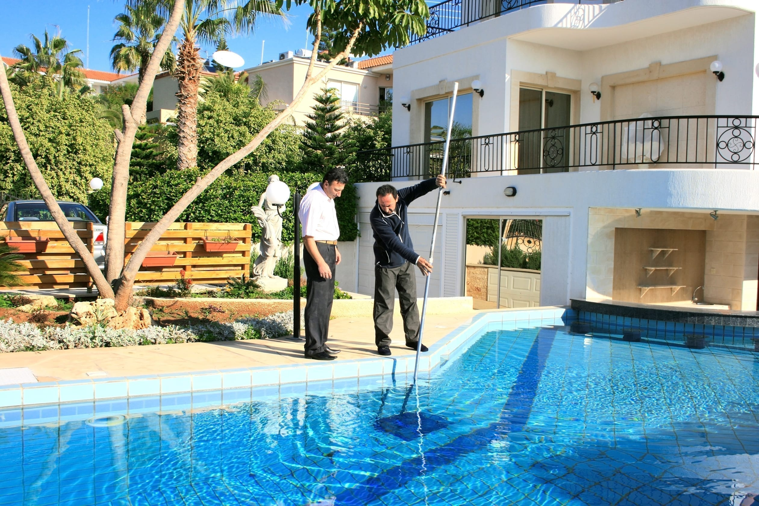 Vacation rental managers provide professional services
