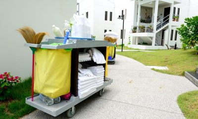 Housekeeping for vacation rentals