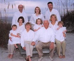 Elliott Beach Rentals family