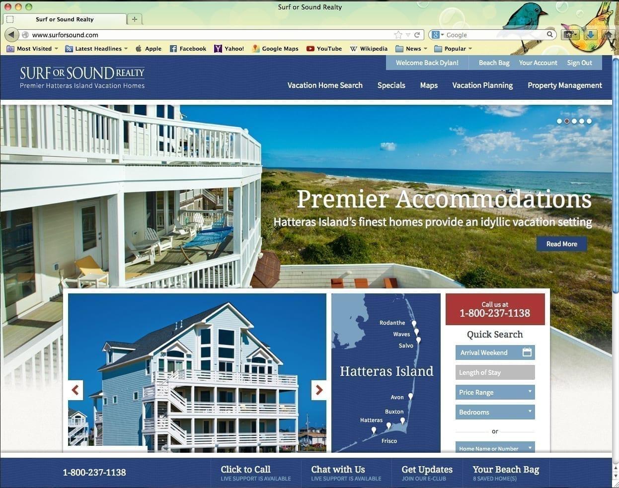 SurforSound.com Home Page