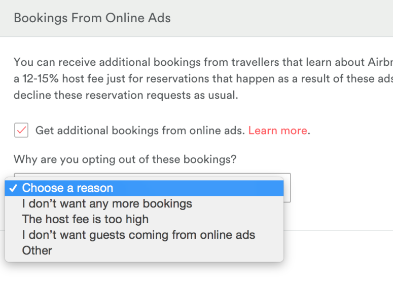 Airbnb passes marketing costs on to owners/managers - VRM Intel