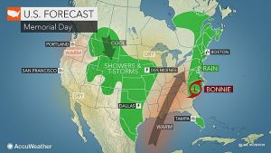Memorial Day Storms Affect Vacation Rentals on East Coast