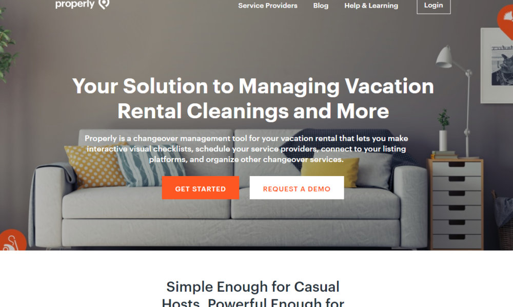 Properly Launches Housekeeping Technology For Vacation Rental Providers Vrm Intel