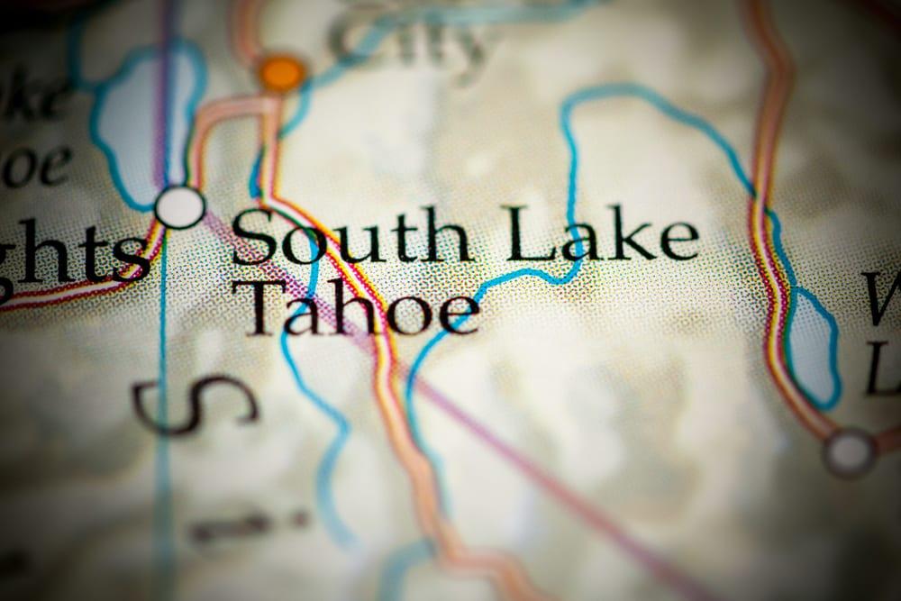 south lake tahoe map - VRM Intel