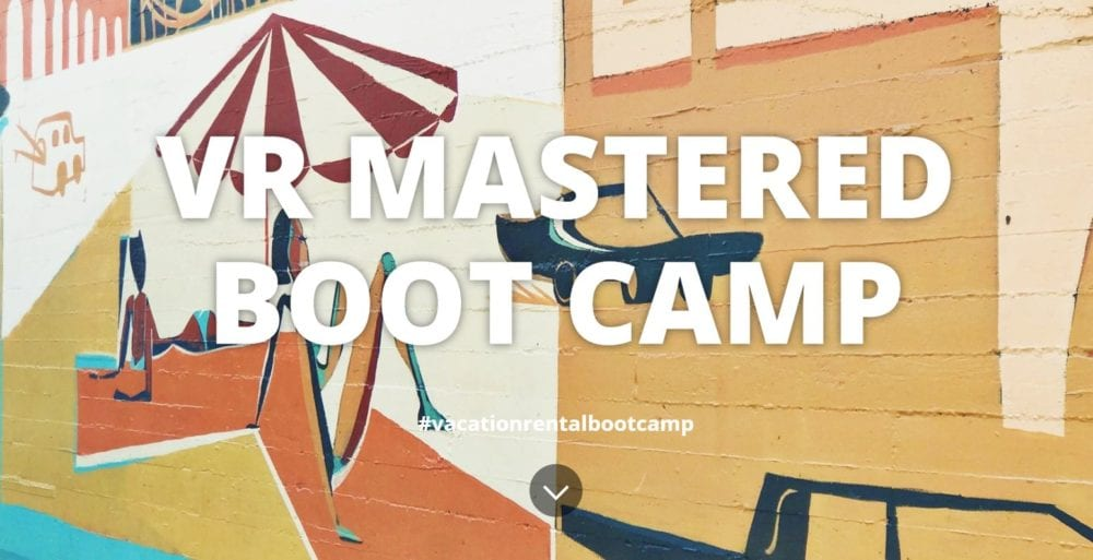 vr mastered bootcamp vacation rental education website