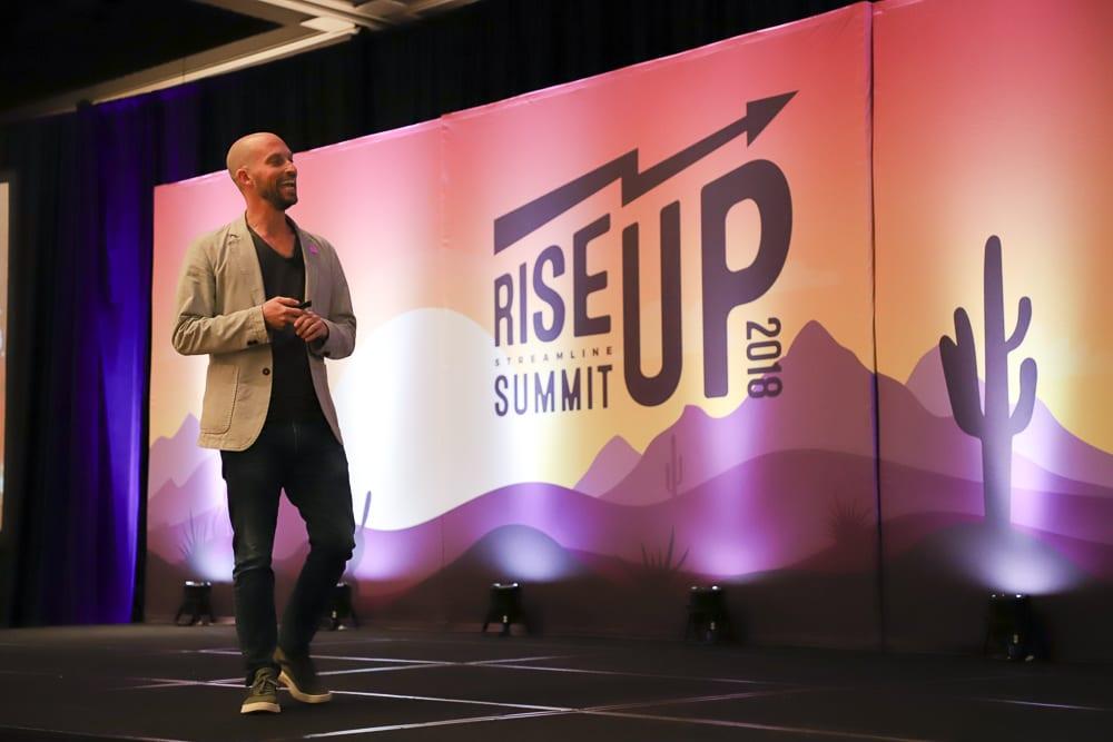 VRMB Founder and Sense of Place Host Matt Landau at the 2018 Streamline Summit