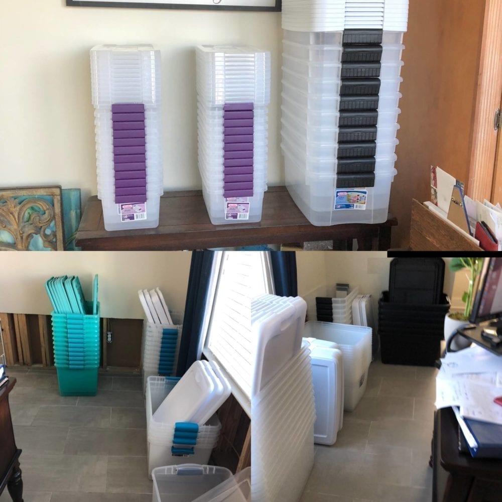 storage bin stacks annie holcombe's house panama city florida