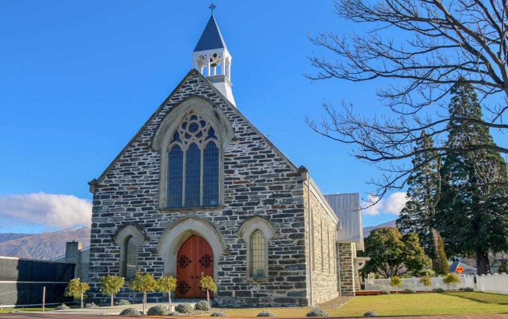 140-year-old stone Gothic church converted to a luxury holiday home in Cromwell